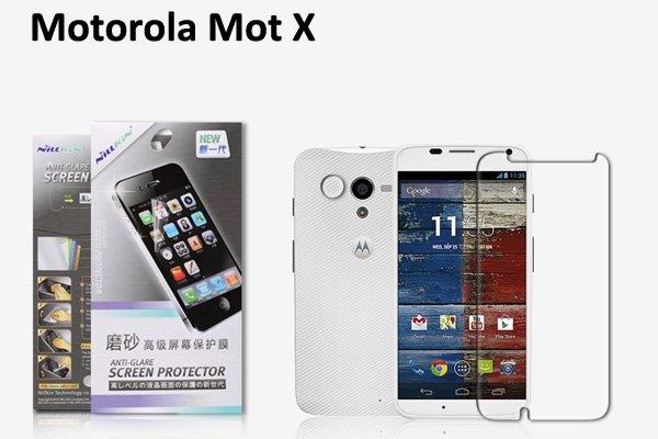 【ネコポス送料無料】Motorola Moto X 液晶保護フィルムセット アンチグレアタイプ  [1]