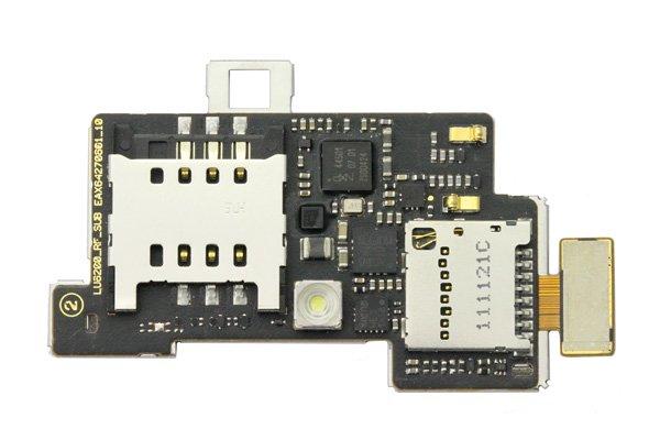 【ネコポス送料無料】LG Opimtus LTE (LU6200) SIM & SD スロットケーブルASSY  [1]