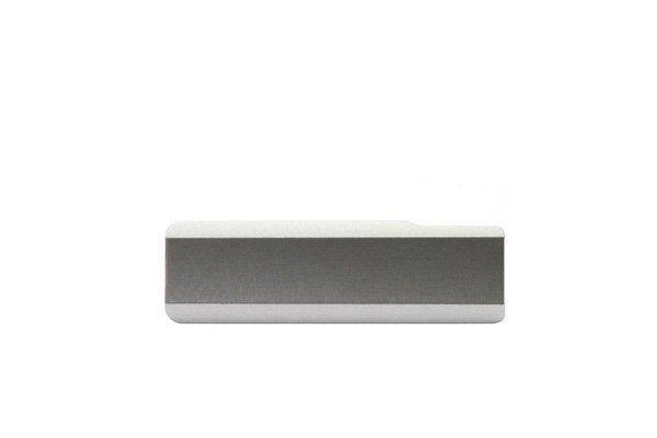 【ネコポス送料無料】Xperia Z1 (SO-01F C690X L39h) キャップセット ホワイト  [3]
