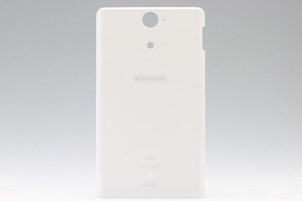 【ネコポス送料無料】Xperia VL (SOL21)バッテリーカバー 全4色  [2]
