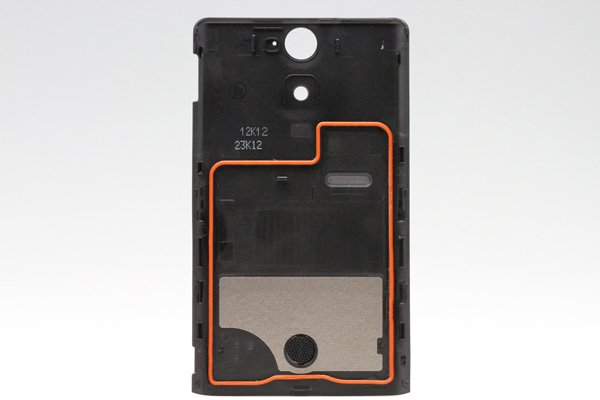 【ネコポス送料無料】Xperia VL (SOL21)バッテリーカバー 全4色  [4]