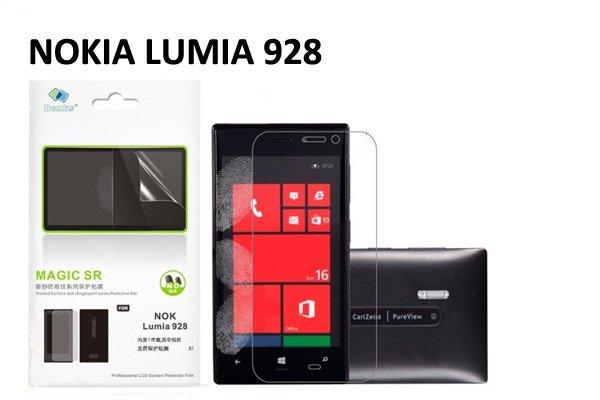 【ネコポス送料無料】指の滑りがスルッスルNOKIA LUMIA 928 液晶保護フィルム アンチグレアタイプ  [1]