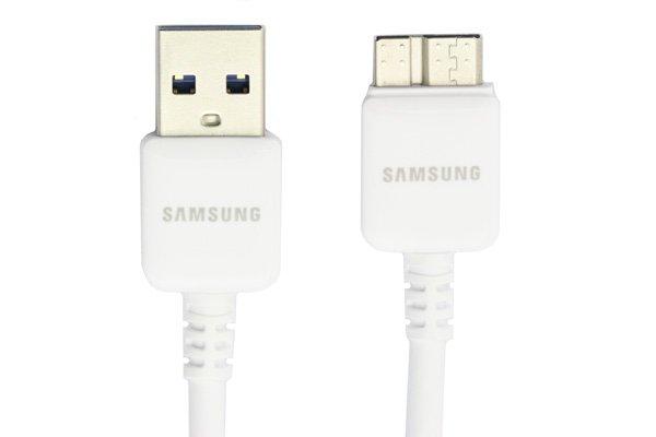 【ネコポス送料無料】SAMSUNG USB3.0ケーブル ホワイト Galaxy Note3  [1]