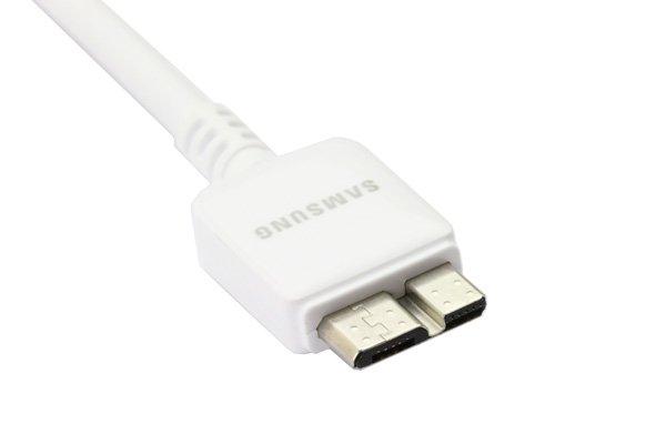 【ネコポス送料無料】SAMSUNG USB3.0ケーブル ホワイト Galaxy Note3  [2]
