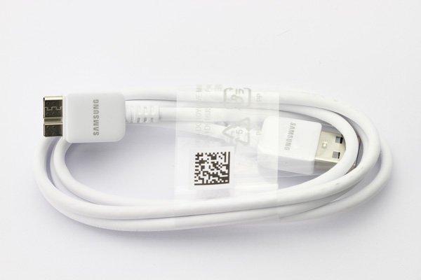 【ネコポス送料無料】SAMSUNG USB3.0ケーブル ホワイト Galaxy Note3  [3]
