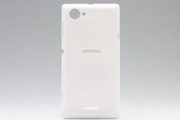 【ネコポス送料無料】Xperia L (S36h) バッテリーカバー 全3色  [3]