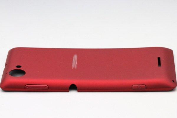 【ネコポス送料無料】Xperia L (S36h) バッテリーカバー 全3色  [8]