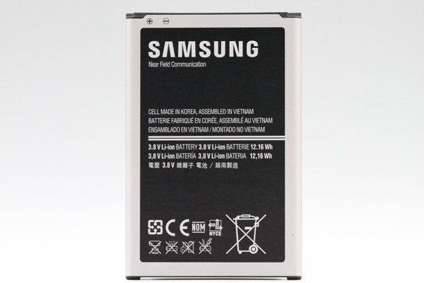 【ネコポス送料無料】Galaxy Note3 (GT-N7200) バッテリー B800Bx 3200mAh  [1]