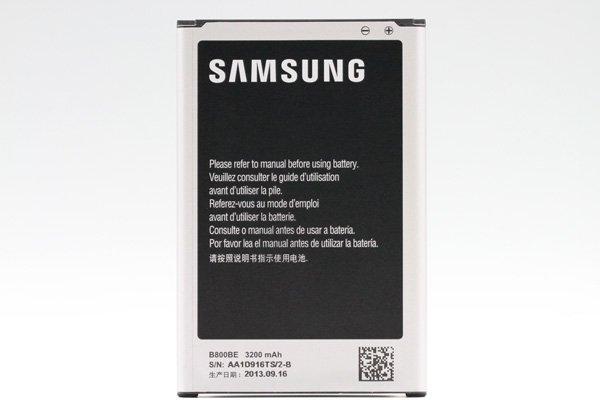【ネコポス送料無料】Galaxy Note3 (GT-N7200) バッテリー B800Bx 3200mAh  [2]