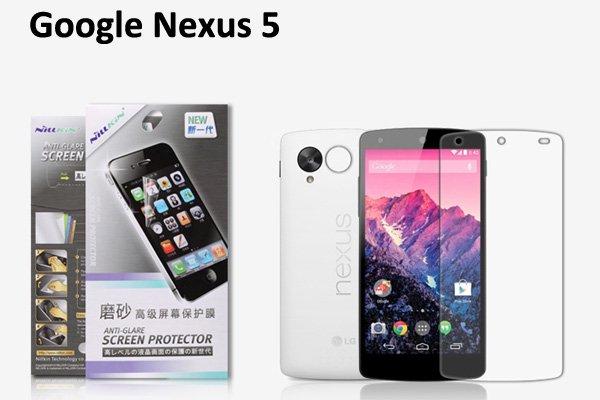 【ネコポス送料無料】Google Nexus5 (LG D821) 液晶保護フィルムセット アンチグレアタイプ  [1]