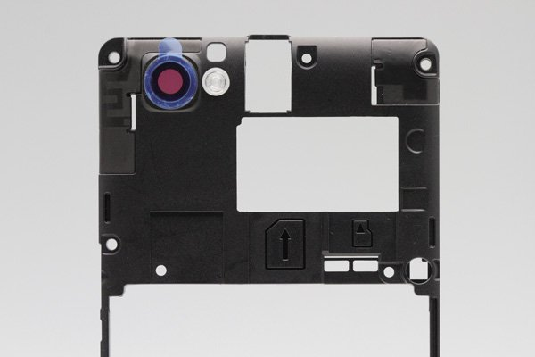 【ネコポス送料無料】Xperia M (C1905) ミドルフレーム  [3]