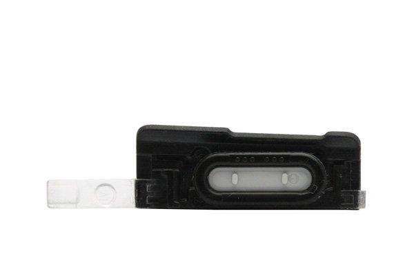 【ネコポス送料無料】Xperia AX (SO-01E) V (LT25i) キャップセット ブラック  [3]