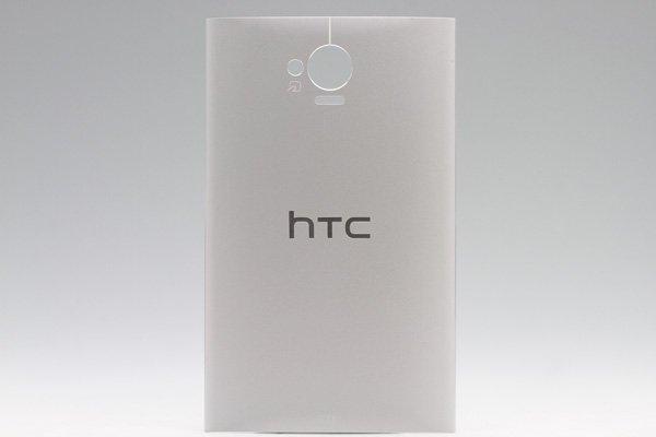 【ネコポス送料無料】HTC J One (HTL22) バックカバー シルバー  [1]