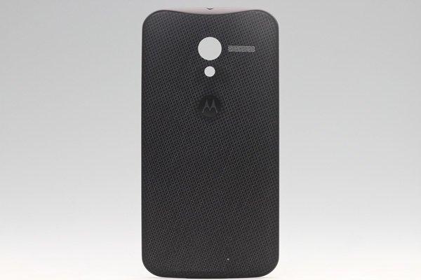 【ネコポス送料無料】Motorola Moto X バッテリーカバー woven black  [1]