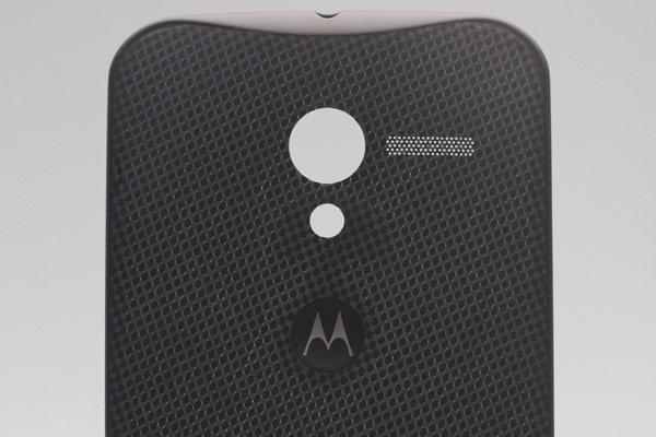 【ネコポス送料無料】Motorola Moto X バッテリーカバー woven black  [3]