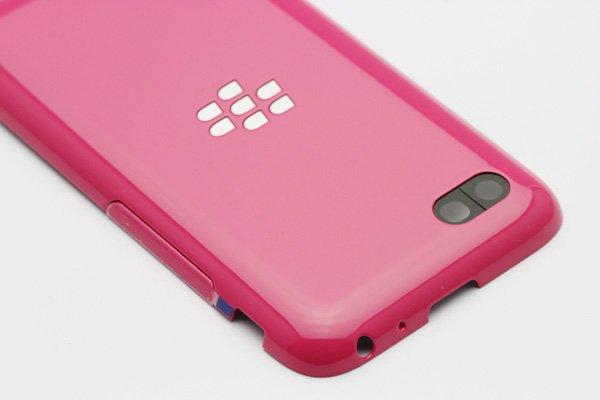【ネコポス送料無料】Blackberry Q5 バッテリーカバー 全4色  [11]