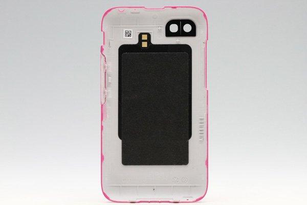 【ネコポス送料無料】Blackberry Q5 バッテリーカバー 全4色  [6]