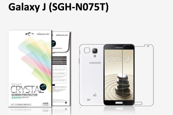 【ネコポス送料無料】Galaxy J (SC-02F SGH-N075T) 液晶保護フィルムセット クリスタルクリア  [1]