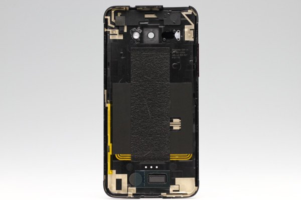 【ネコポス送料無料】HTC J butterfly (HTL21) バックカバー ブラック  [2]