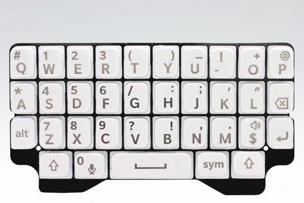 【ネコポス送料無料】Blackberry Q5 キーパッド 全3色  [2]