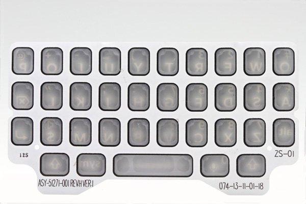 【ネコポス送料無料】Blackberry Q5 キーパッド 全3色  [4]
