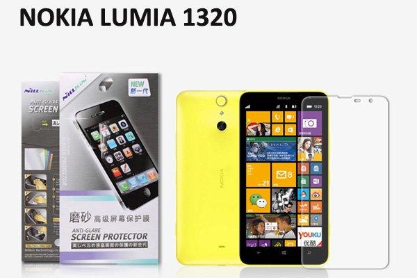 【ネコポス送料無料】NOKIA LUMIA1320 液晶保護フィルムセット アンチグレアタイプ  [1]