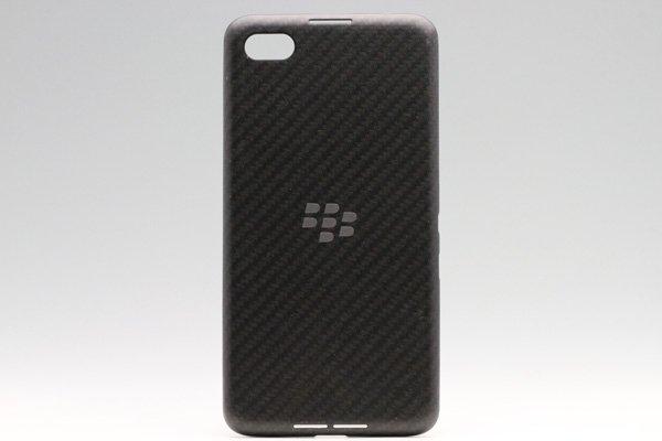 【ネコポス送料無料】Blackberry Z30 バッテリーカバー ブラック  [1]