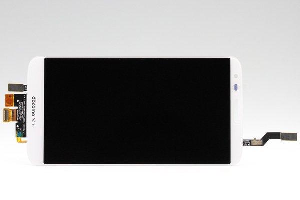 LG G2 L-01F フロントパネル ホワイト  [1]