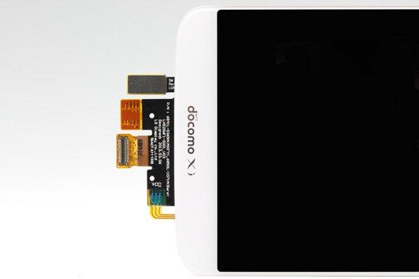LG G2 L-01F フロントパネル ホワイト  [3]