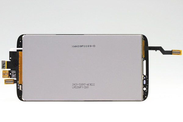 LG G2 L-01F フロントパネル ブラック  [2]