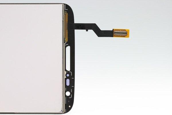 LG G2 L-01F フロントパネル ブラック  [4]