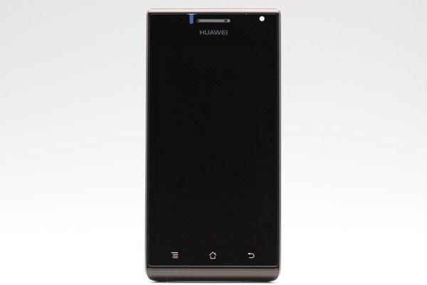 Huawei Ascend P1 (GS03 U9200) フロントパネルASSY ブラック  [1]