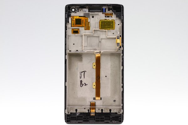 Huawei Ascend P1 (GS03 U9200) フロントパネルASSY ブラック  [2]