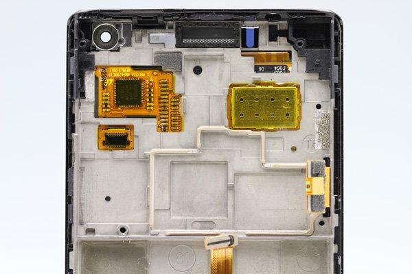Huawei Ascend P1 (GS03 U9200) フロントパネルASSY ブラック  [3]