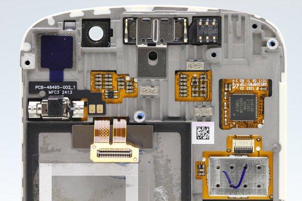 Blackberry Q10 フロントパネルASSY ホワイト  [3]