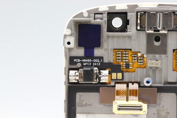 Blackberry Q10 フロントパネルASSY ホワイト  [4]