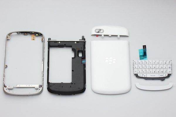 Blackberry Q10 外装セット ホワイト  [3]