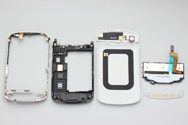 Blackberry Q10 外装セット ホワイト  [4]