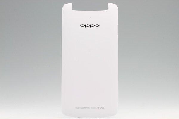 【ネコポス送料無料】OPPO N1 バックカバー ホワイト  [1]