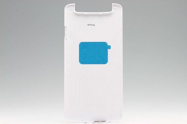 【ネコポス送料無料】OPPO N1 バックカバー ホワイト  [2]