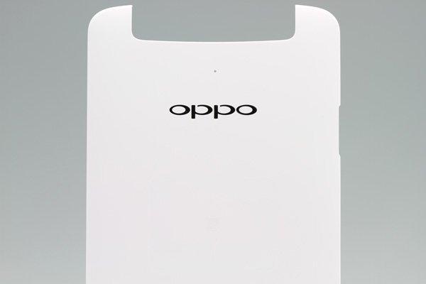 【ネコポス送料無料】OPPO N1 バックカバー ホワイト  [3]