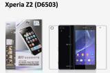 【ネコポス送料無料】Xperia Z2 (D6503) 液晶保護フィルムセット アンチグレアタイプ