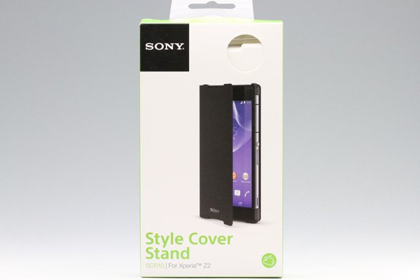 【ネコポス送料無料】Xperia Z2 Style Cover Stand SCR10 全2色  [1]
