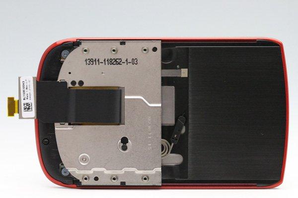 Blackberry Torch 9800 液晶(002) & タッチパネルASSY レッド [7]
