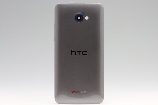 【ネコポス送料無料】HTC Butterfly S (901S) バックカバー シルバー  [1]
