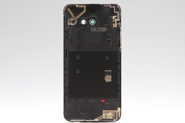 【ネコポス送料無料】HTC Butterfly S (901S) バックカバー シルバー  [2]
