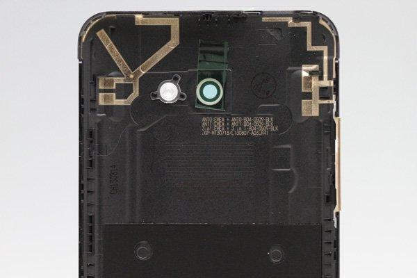 【ネコポス送料無料】HTC Butterfly S (901S) バックカバー シルバー  [3]