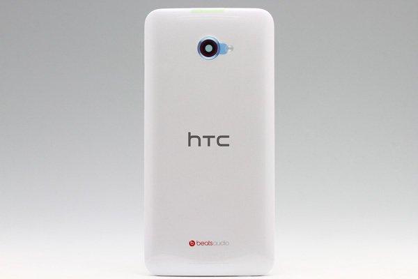 【ネコポス送料無料】HTC Butterfly S (901S) バックカバー ホワイト  [1]