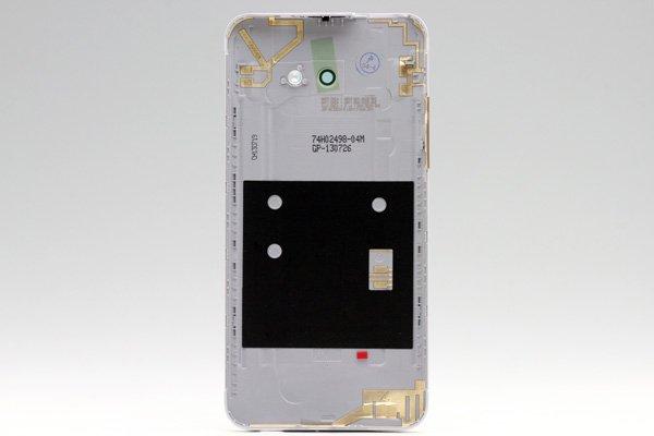 【ネコポス送料無料】HTC Butterfly S (901S) バックカバー ホワイト  [2]
