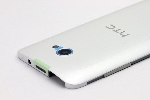 【ネコポス送料無料】HTC Butterfly S (901S) バックカバー ホワイト  [4]